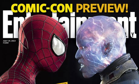 Entertainment Weekly Reveals Spider-Man & Electro Comic-Con Cover