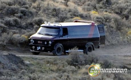 A-Team Van Sneak Peek