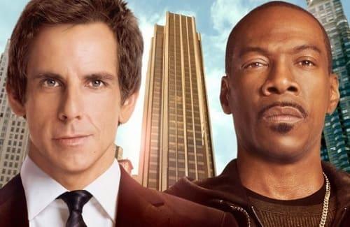 Eddie Murphy and Ben Stiller in Tower Heist