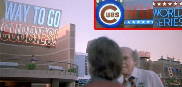 Back to the Future Part II Cubs Win
