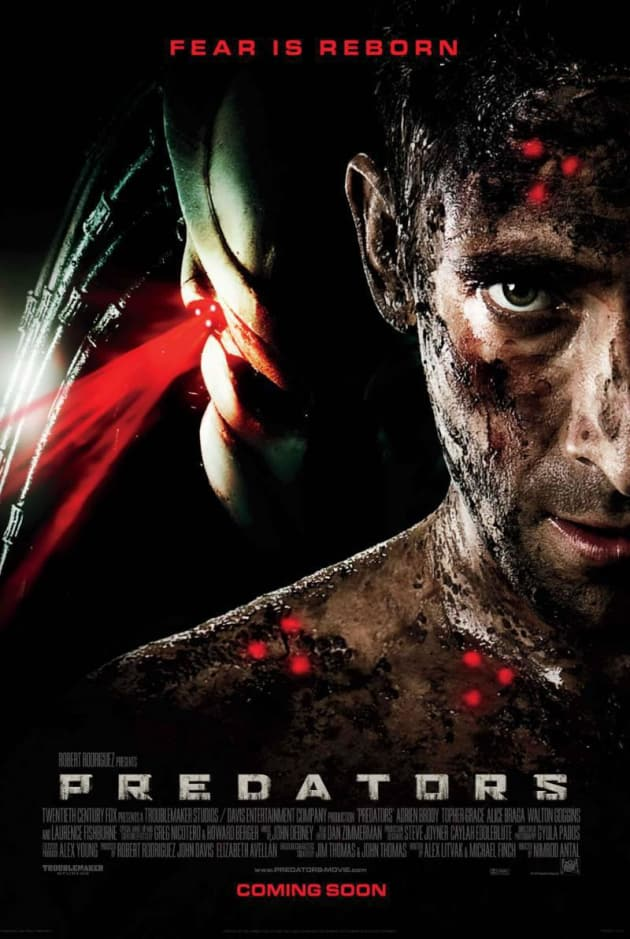 Predators International Poster Closeup