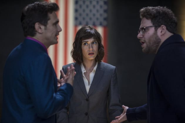 Lizzy Caplan Recruits Our Guys