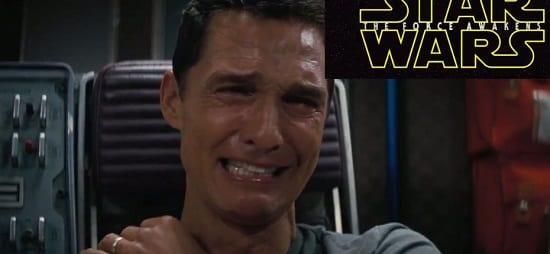 Matthew McConaughey Star Wars Reaction Photo