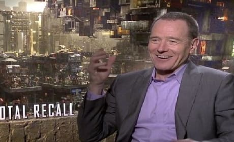 Total Recall Exclusive Video Interview: Bryan Cranston Comes Clean