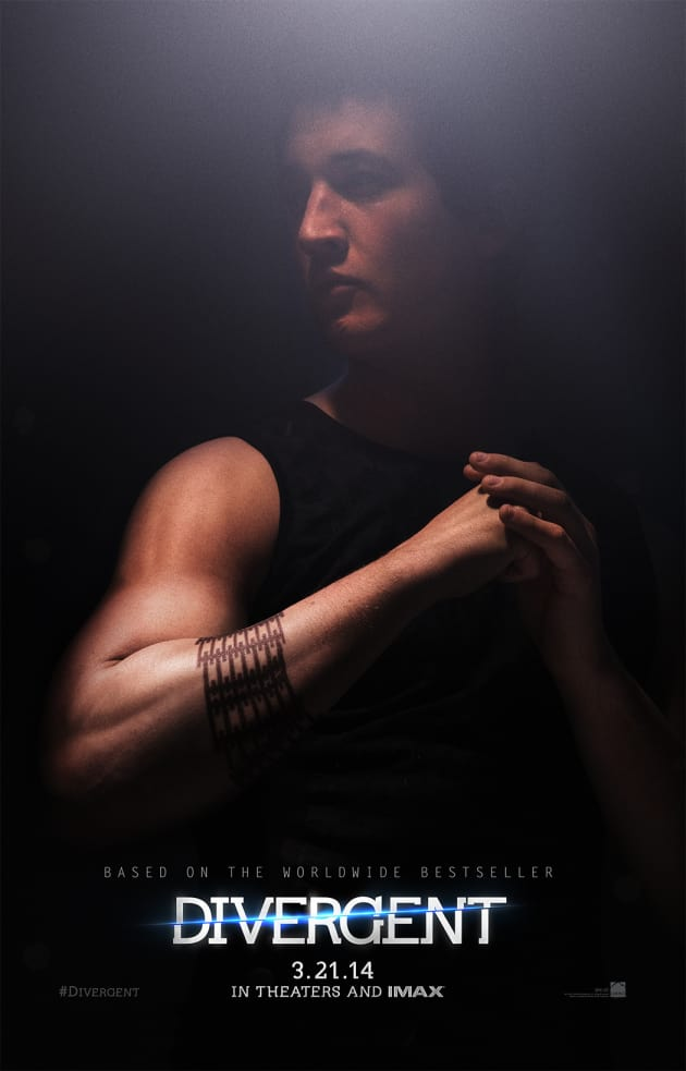 Divergent Miles Teller Character Poster