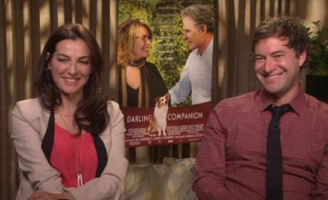 Mark Duplass and Ayelet Zurer in Darling Companion