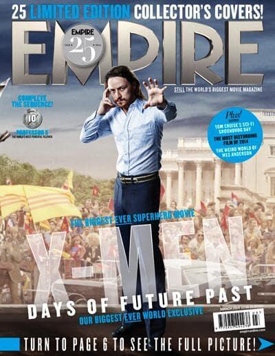 X-Men Days of Future Past Professor X Empire Cover