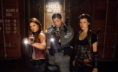 Alice, Chris and Claire