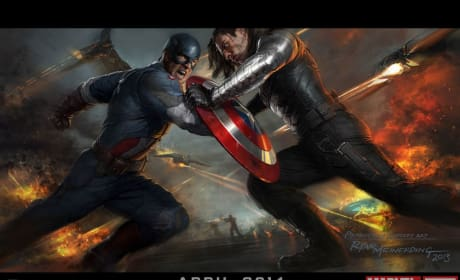 Captain America: The Winter Soldier Comic-Con Poster