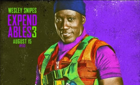 The Expendables 3 Wesley Snipes Comic Con Poster