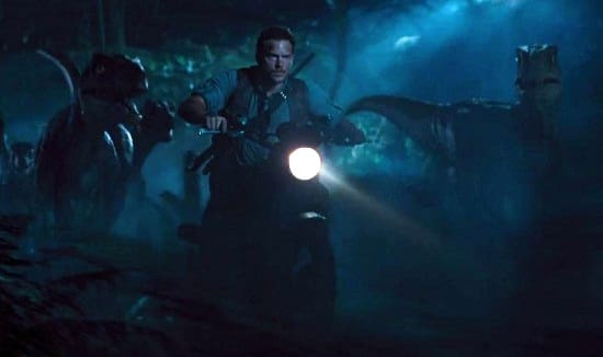 Chris Pratt Jurassic World Still
