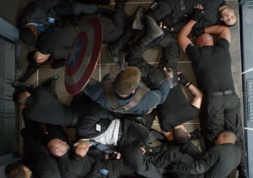 Captain America: Winter Soldier Chris Evans