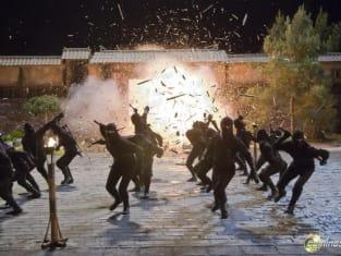 Explosive ninja action!