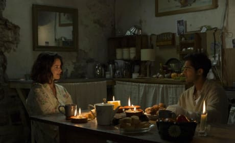 The Hundred Foot Journey Manish Dayal Charlotte Le Bon