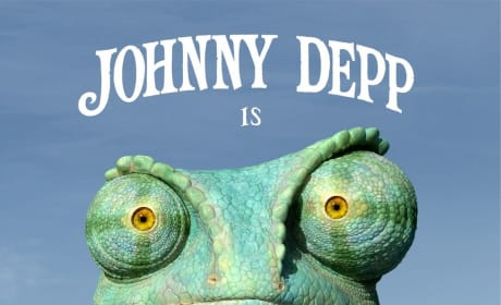See Johnny Depp Play a Chameleon on the Poster for Rango!