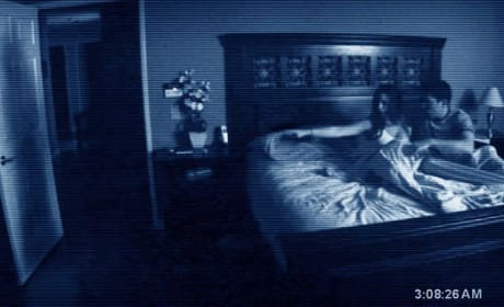 Paranormal Activity in the bedroom