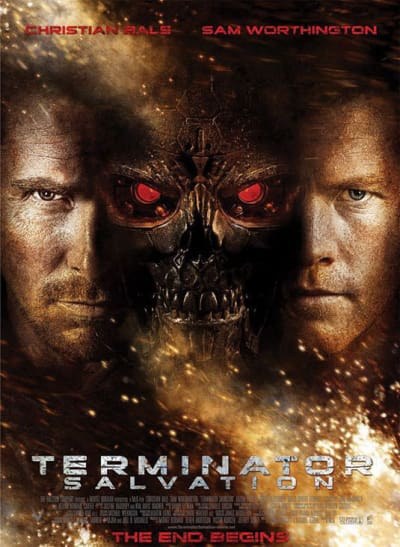 Christian Bale and Sam Worthington Poster