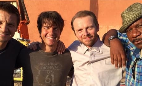 Mission Impossible 5 Cast Photo