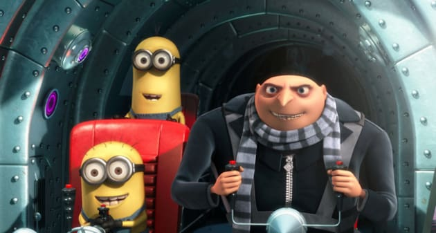 Gru and the Minions Go for the Kill