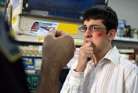 McLovin gets his id checked