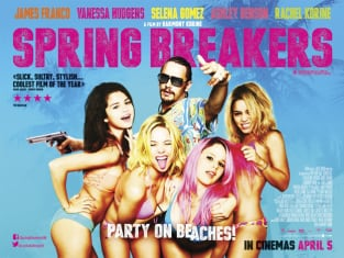 Spring Breakers UK Poster Blue
