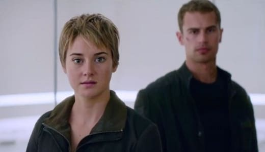 Insurgent Shailene Woodley Theo James Still
