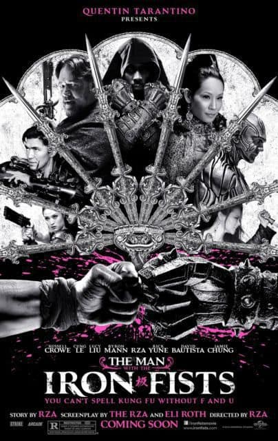 The Man with the Iron Fists Poster 2
