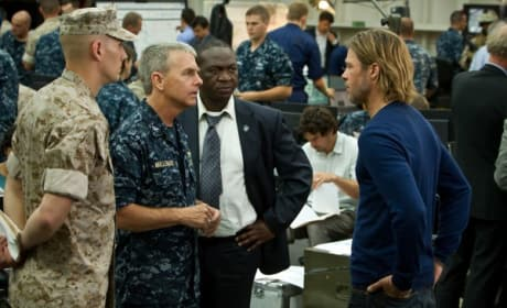 World War Z Brad Pitt David Andrews