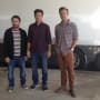 Jason Bateman Jason Sudeikis Charlie Day Horrible Bosses 2 Set