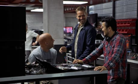 Fast Six Set Photo: Not at All Furious