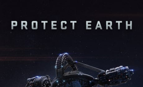 Ender/'s Game Protect Earth Movie Poster