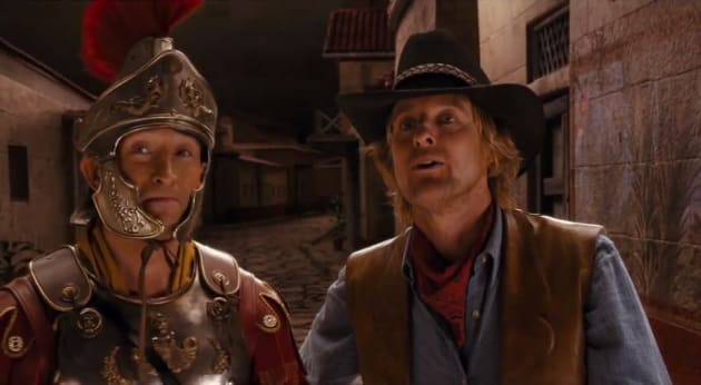Night at the Museum: Secret of the Tomb Owen Wilson Steven Coogan