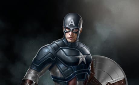Captain America Avengers Concept Art
