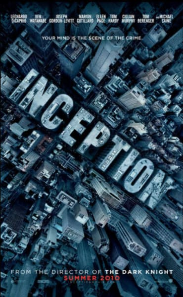 Inception City Teaser Poster