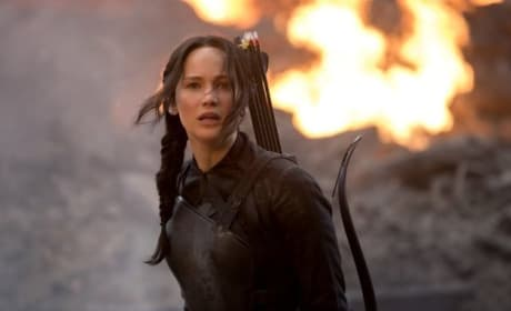 The Hunger Games: Mockingjay Part 1 Star Jennifer Lawrence