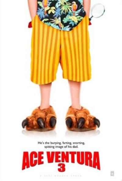 Ace Ventura 3 Movie Poster