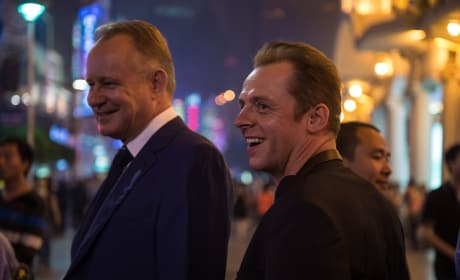Hector and the Search for Happiness Simon Pegg Stellan Skarsgard