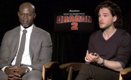 "How to Train Your Dragon 2 Exclusive: Kit Harrington & Djimon Hounsou Dish ""Amazing"" World"