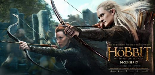 The Hobbit: The Desolation of Smaug Legolas Banner