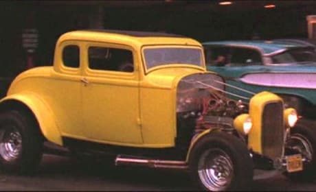 American Graffiti 1932 Ford Couple