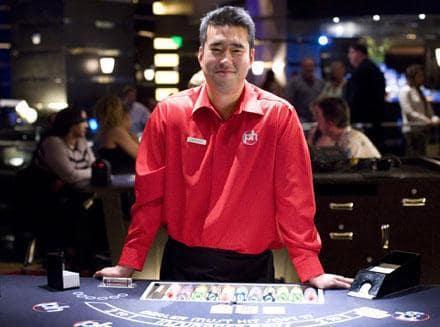 Jeff the blackjack dealer