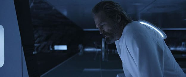 Jeff Bridges as Kevin Flynn in Tron Legacy