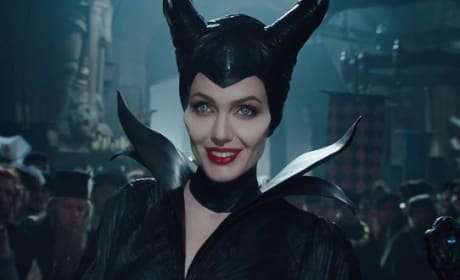 Maleficent Angelina Jolie Smiling