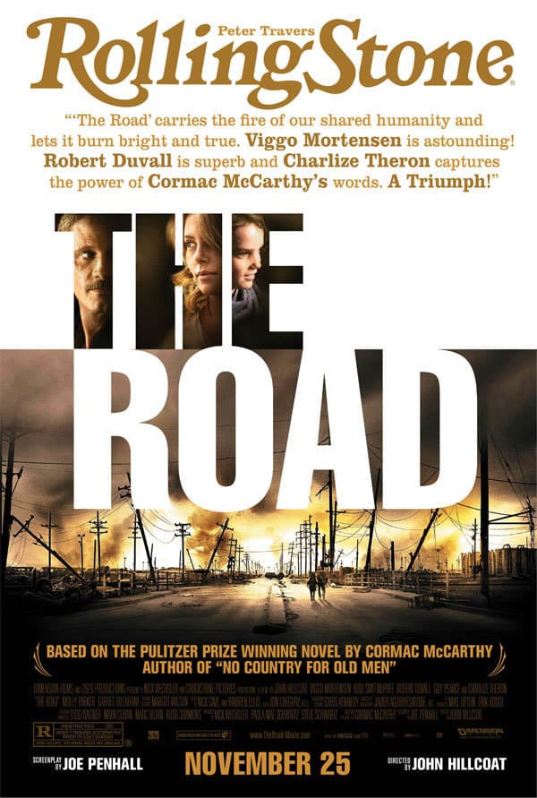The Road Rolling Stone Poster