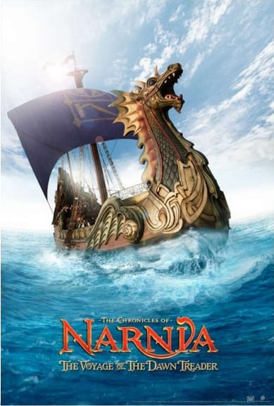 The Chronicles of Narnia: The Voyage of the Dawn Treader Teaser Poster
