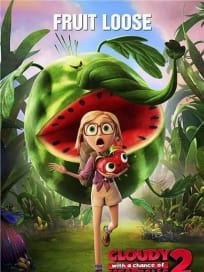 Cloudy with a Chance of Meatballs 2 Fruit Loose Poster