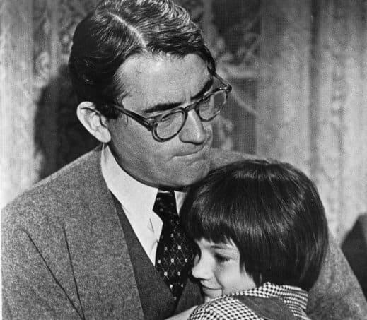 Atticus Finch in To Kill a Mockingbird