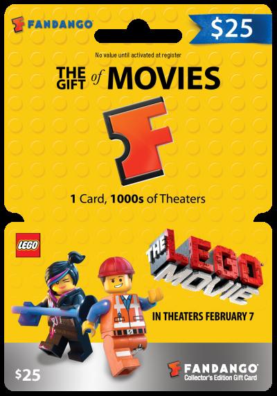 Fandango The LEGO Movie Gift Card