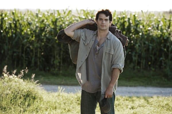Henry Cavill is Clark Kent in Man of Steel
