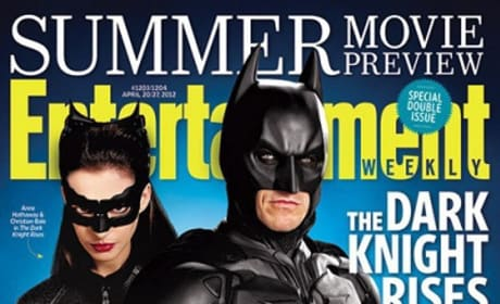 The Dark Knight Rises Entertainment Weekly Cover